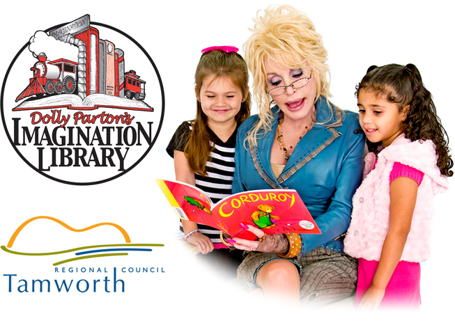 Tamworth Regional Council - Dolly Partons Imagination Library